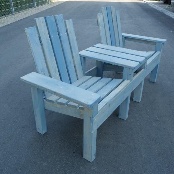 Gartenbank mit Tisch (Bauanleitung)