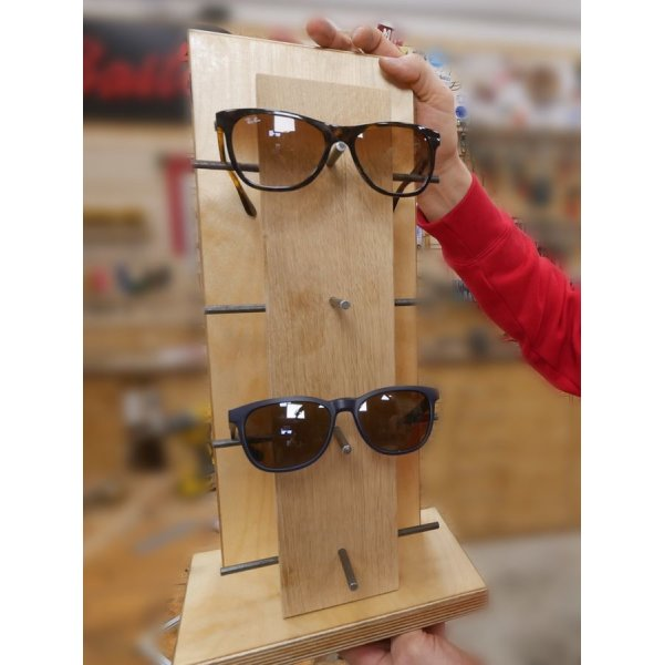 Brillenhalter (Bauanleitung)