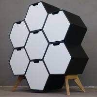 Hexagon-Sideboard (Bauanleitung)