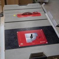 Einlegeplatte für Oberfräsen TRI (vorgebohrt für Triton Oberfräsen)