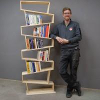 Bücherregal (Bauanleitung)