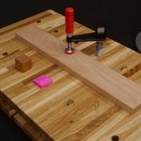 Mini Werkbank mit Vorderzange (Bauanleitung)