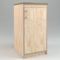 WmS - Regalschrank mit Tür (Bauanleitung)