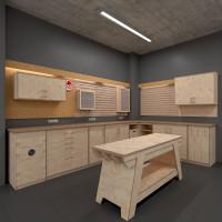 Die Werkstatt mit System (Bauanleitungen) 100 cm