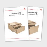 Waschmaschinen Unterschrank (Bauanleitung) 40 & 55 cm