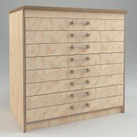 WmS - Schubladenschrank (Bauanleitung) 90 cm